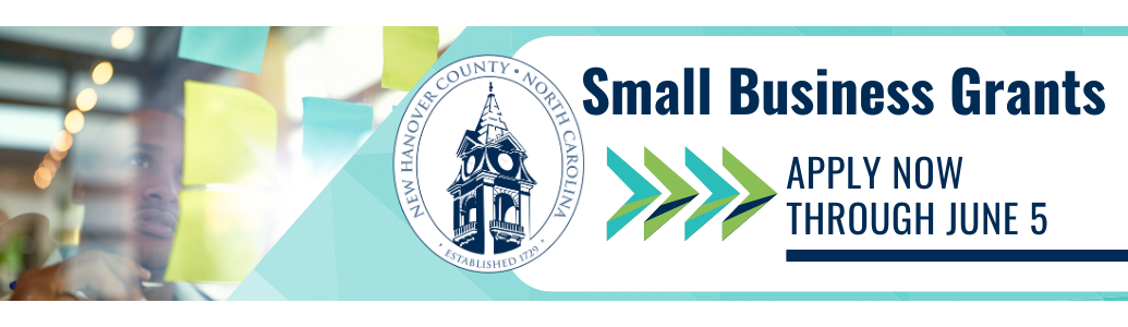 New Haonover County Small Business Grants - Apply by June 5